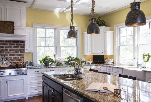 Invite Happiness and Health Into Your Kitchen With Feng Shui...So glad I naturally always buy things in yellow for my kitchen...