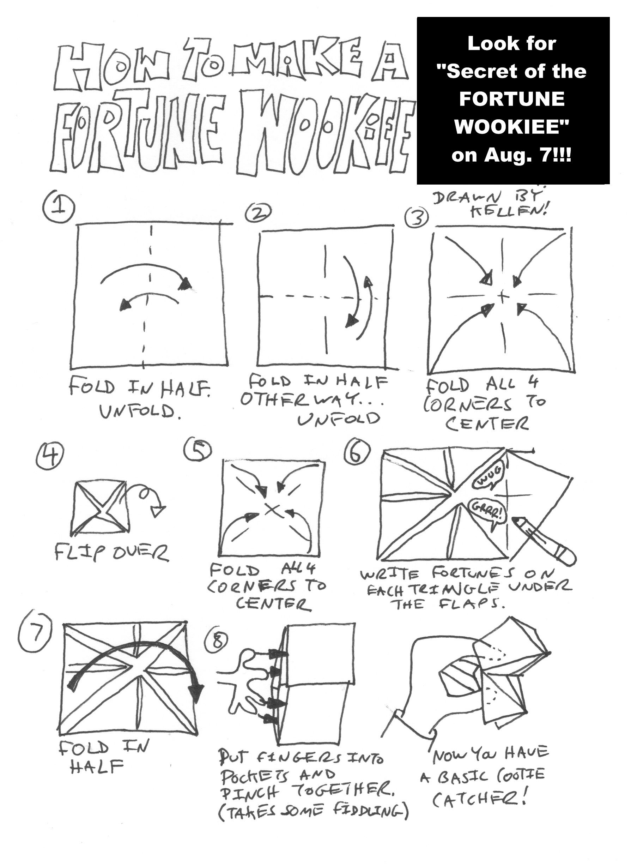 SuperFolder Max's Star Wars Origami | OrigamiYoda | 2454x1789