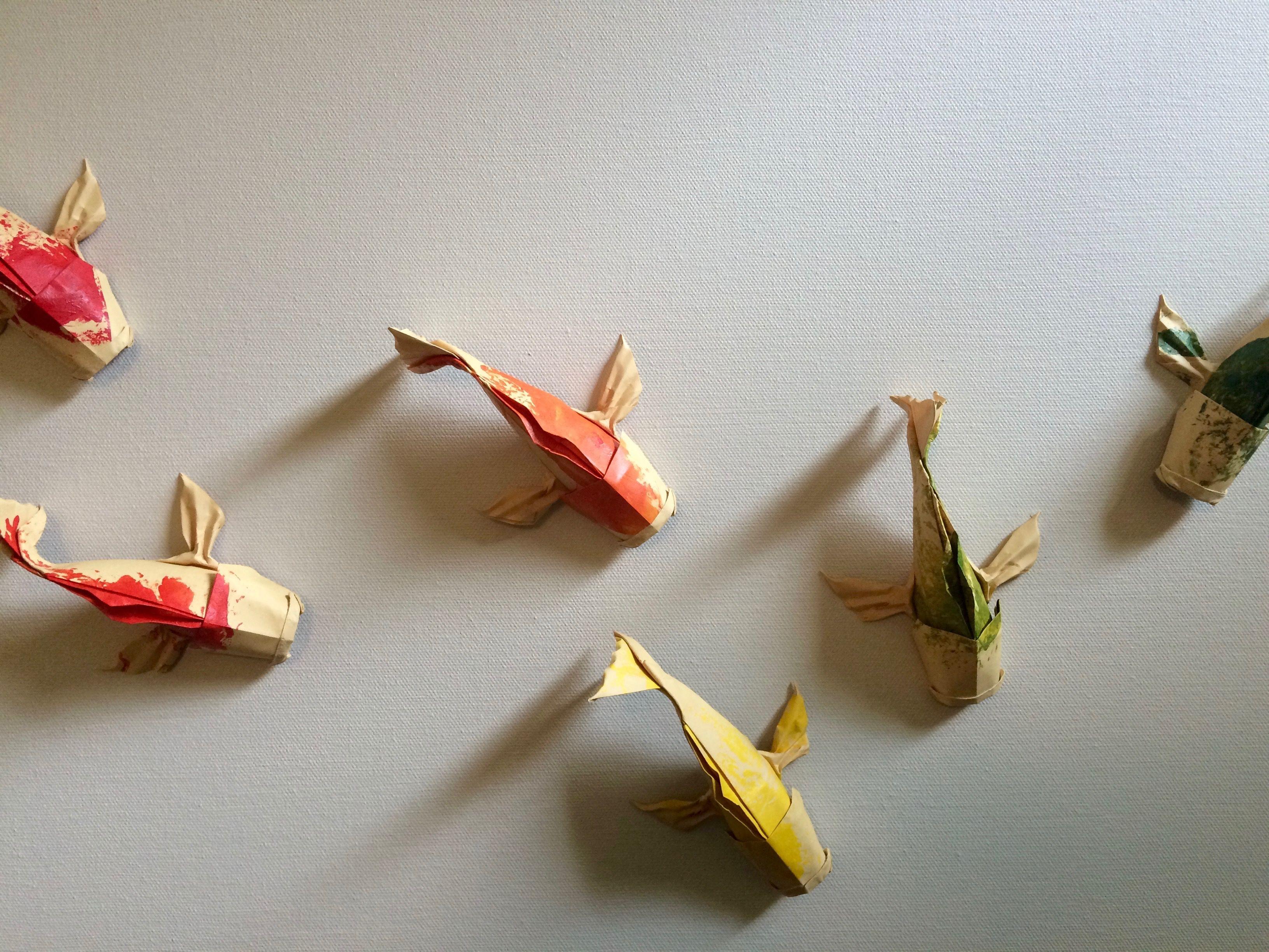 Origami Koi Fish Origami Par Philorigami Pinterest Origami