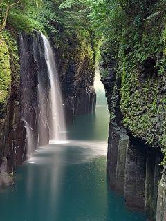 Tropical Jungle Waterfall Nature Desktop Wallpapers