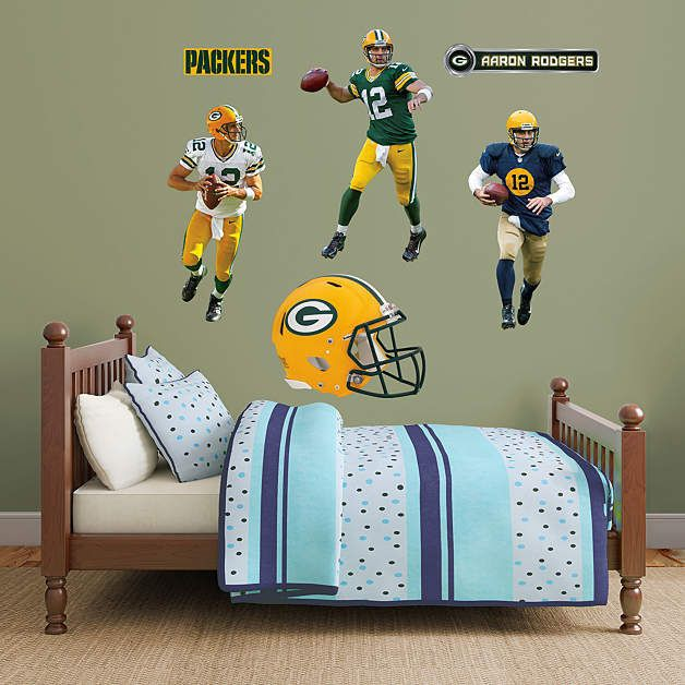 Elegant Fathead Green Bay Packers Aaron Rodgers Hero Pack   Wall Sticker Outlet Part 20