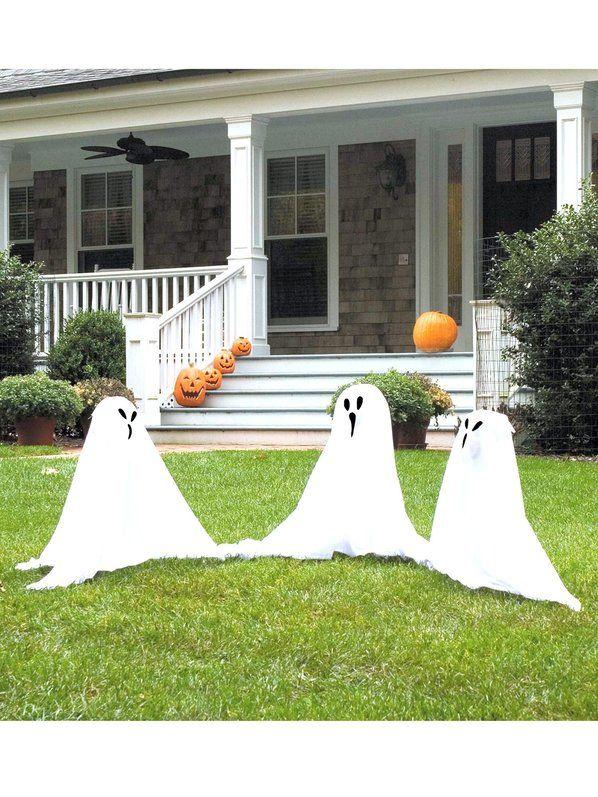 Lawn Outdoor Halloween Decorations Halloween lawn, Ghost - outdoor ghosts halloween decorations