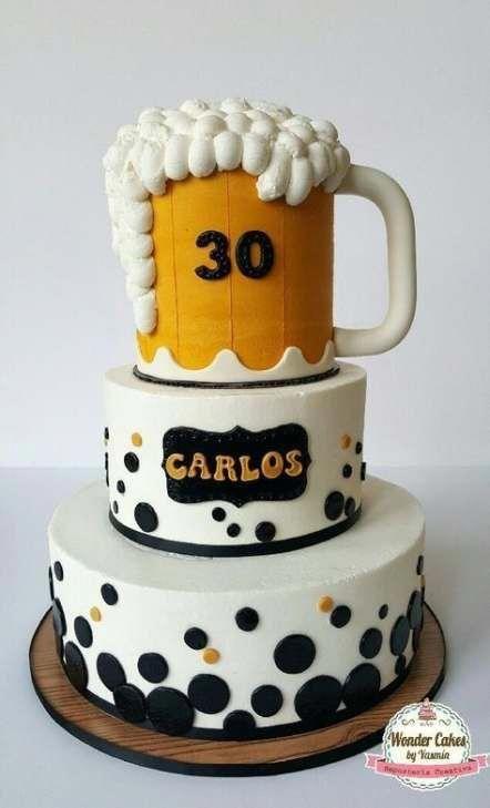Swell Pin On Birthday Beer Cake Funny Birthday Cards Online Elaedamsfinfo