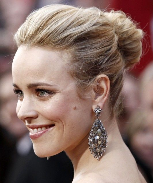 Wedding Hairstyle Names: Classy Simple Feminine Updo For Women: The Bun Hairstyles