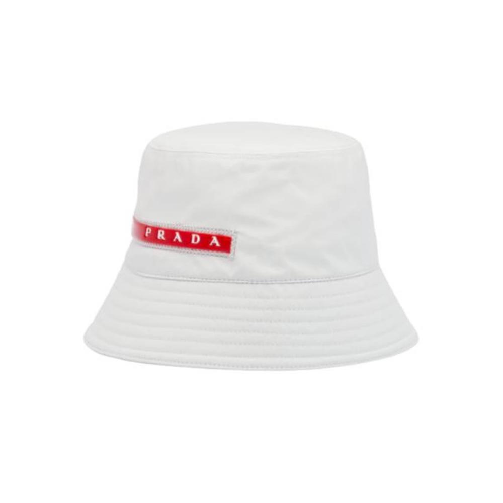 Prada Prada Linea Rossa Logo Bucket Hat Size One Size 216 Prada Linea Rossa Hats Prada