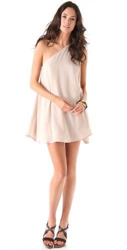 58a23e8a78 Riller   Fount Skipper One Shoulder Mini Dress