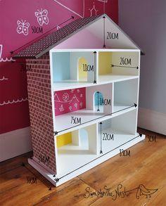 A Diy Dollhouse Project By Simply The Nest A Uk Renovation Blog Doll House Plans Diy Dollhouse Barbie Doll House