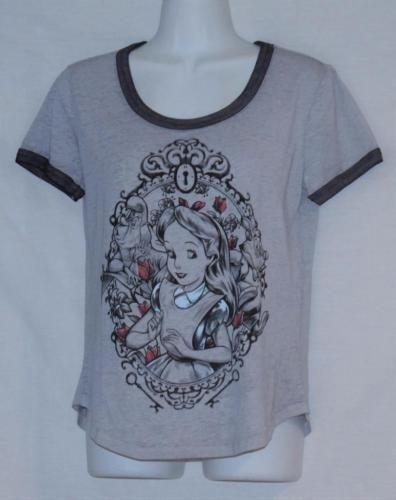 Snow White and the Seven Dwarfs Happy Disney Top Tee Women Juniors Girls T-Shirt