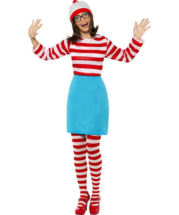 http://images.halloweencostumes.com/products/32510/1-2 ...  |Waldo 90s Halloween Costumes For Women