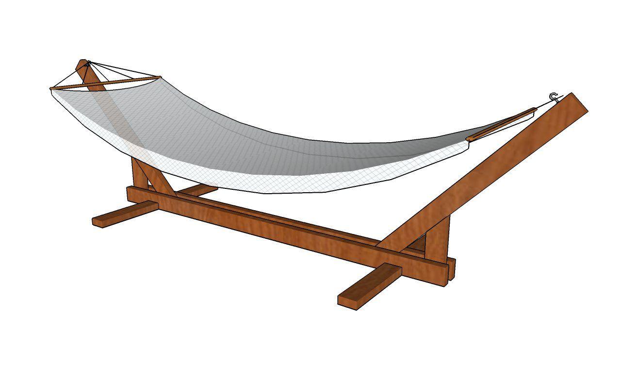 Hammock stand plans hamaca pinterest hammock stand wooden