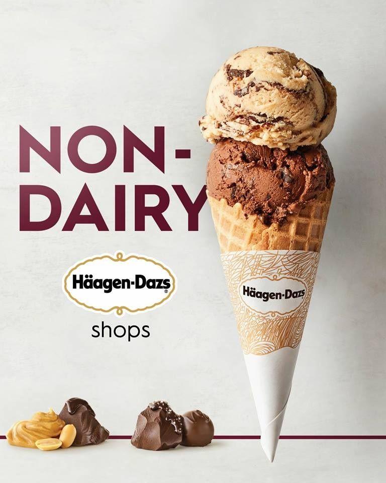 Haagen Dazs Ice Cream Shops The Dairy Free Vegan Options Haagen Dazs Ice Cream Dairy Free Ice Cream