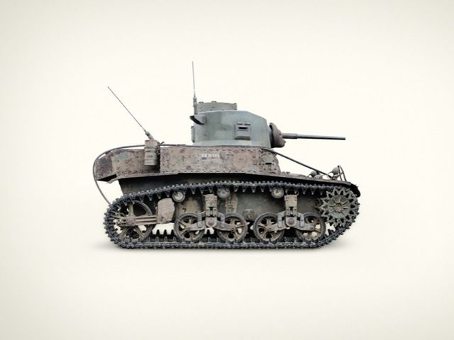 Tanks : Jim Naughten