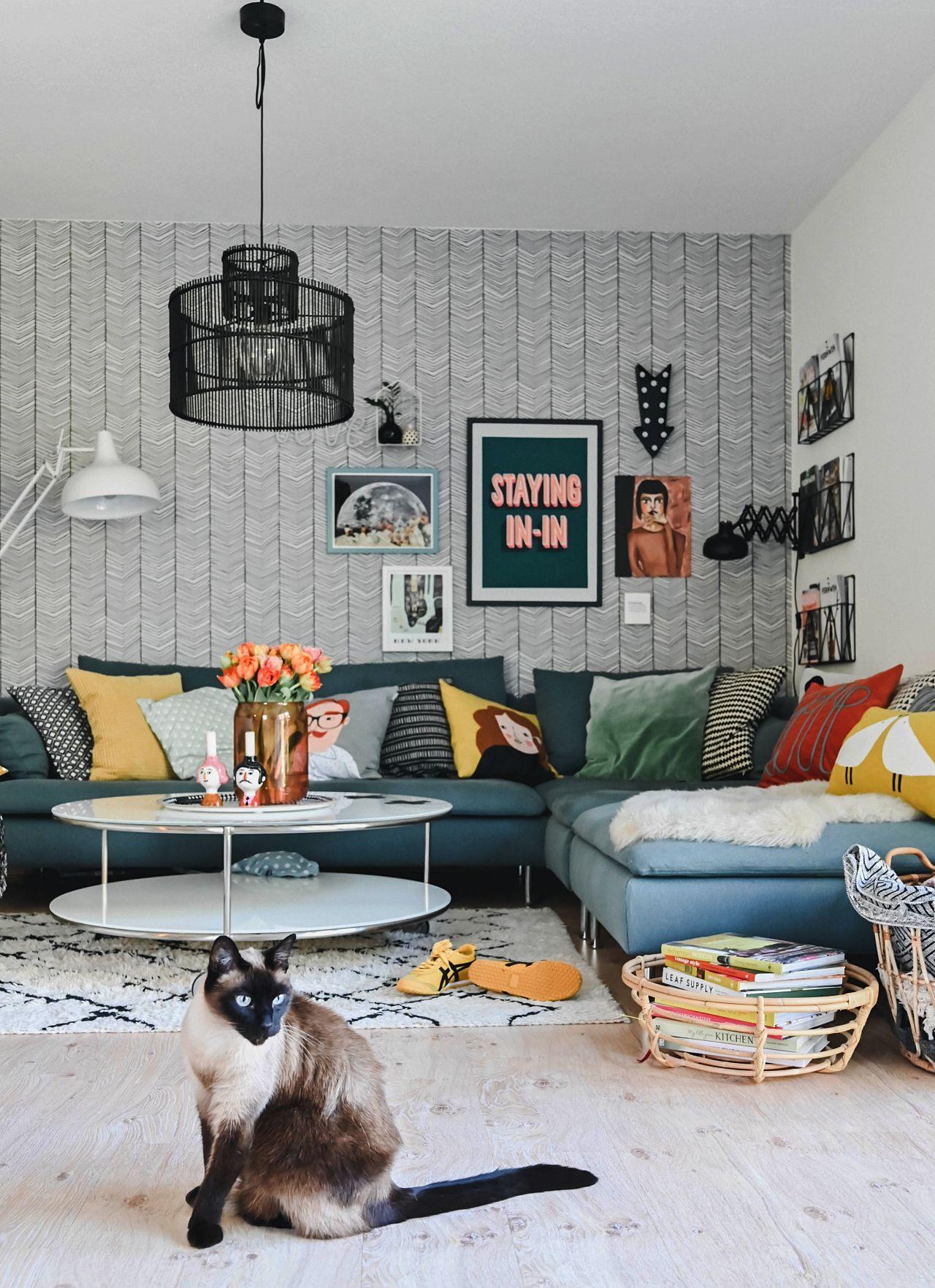"""Familien-Sofa - endlich """"zusammener"""" und mehr Platz für Jeden & Alles! #evdekoru"""