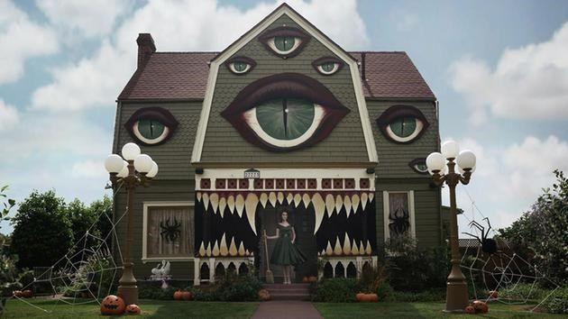 Decoraciones De Casa Halloween 2 Casa Halloween Casas Embrujadas De Halloween Decoracion De Halloween