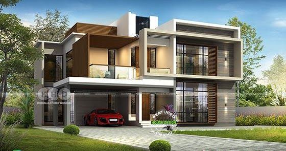 2801 Sq Ft 4 Bedroom House Plan In Modern Style 4