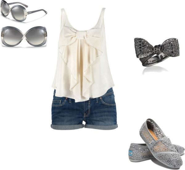 """""""Summer Days"""" by emk13 ❤ liked on Polyvore"""