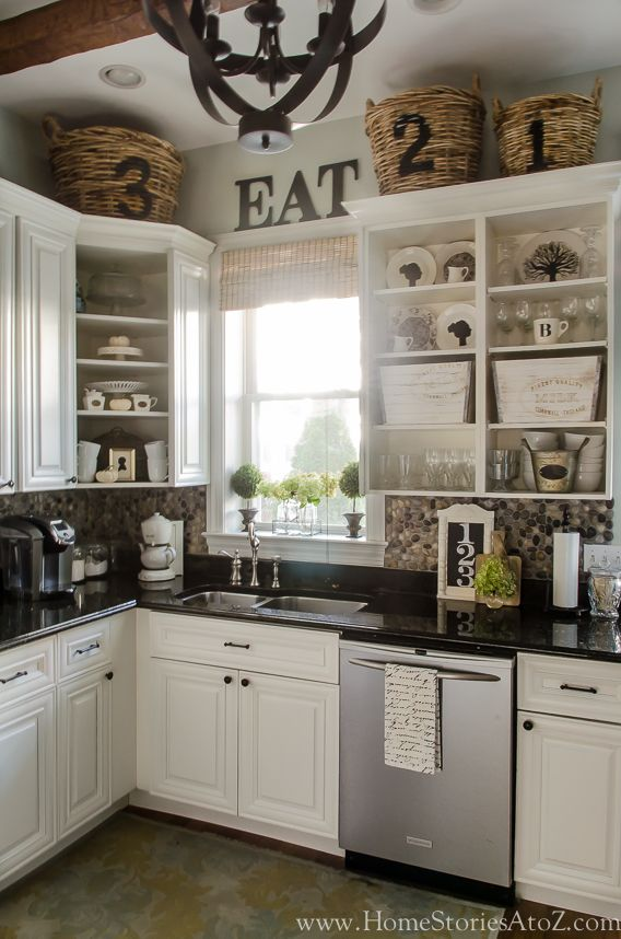 Fall Home Tour: Fall Decorating Ideas | Kitchens | Above ...
