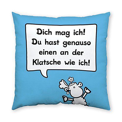 Sheepworld 42794 Baumwollkissen Klatsche Sheepworld Https Www