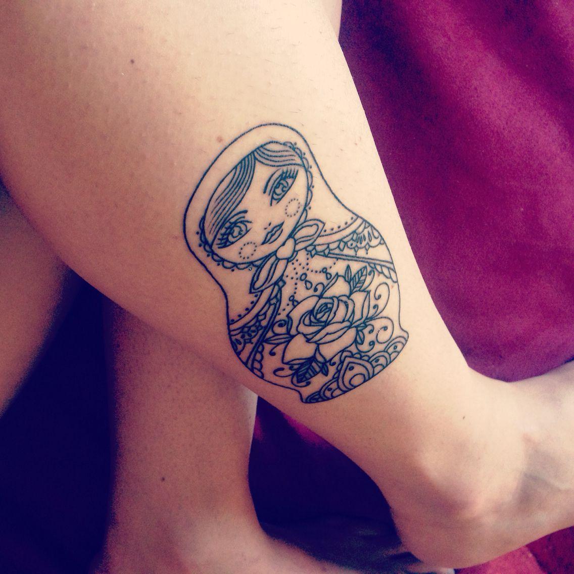 russian doll tattoo tatoo pinterest tatouages tatouage de poup e russe et tatouage de poup e. Black Bedroom Furniture Sets. Home Design Ideas