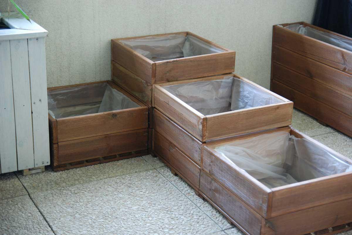 Fabriquer un carr potager pour balcon ou terrasse jardinage pinterest carr potager for Fabriquer un carre potager