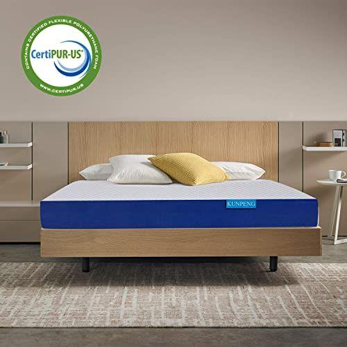 New Queen Bed Mattress Kunpeng 10 Inch Premium Gel Memory Foam Mattress In A Box Medium Firm In 2020 Queen Bed Mattress Memory Foam Mattress Gel Memory Foam Mattress