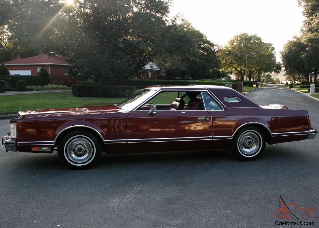 1977 lincoln continental luxury group red rose moonroof 1977 lincoln