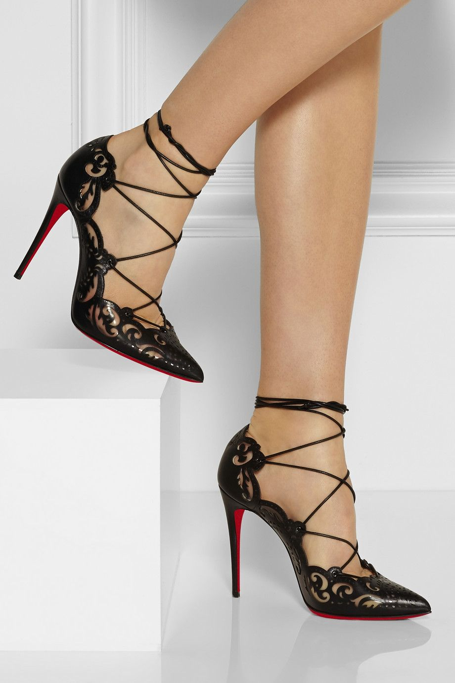 Black Friday Women's shoes Christian Louboutin wave Black 1150240BK01 Online Trading Station