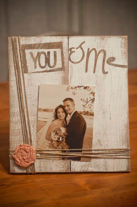 Rustic wooden picture frame by JoelleMorrisDesigns on Etsy | Crafty ...