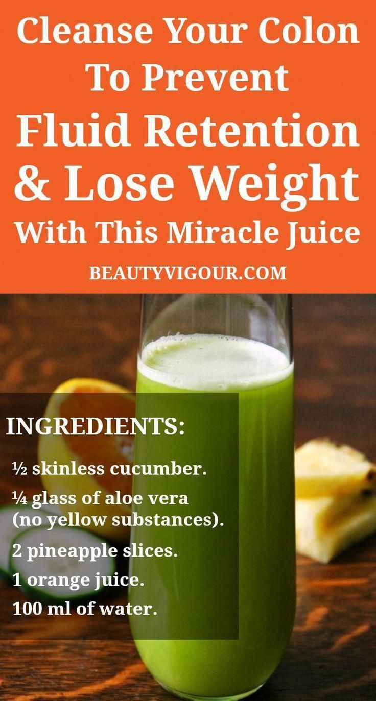 How To Do A Colon Cleanse Detox juice, Fluid retention