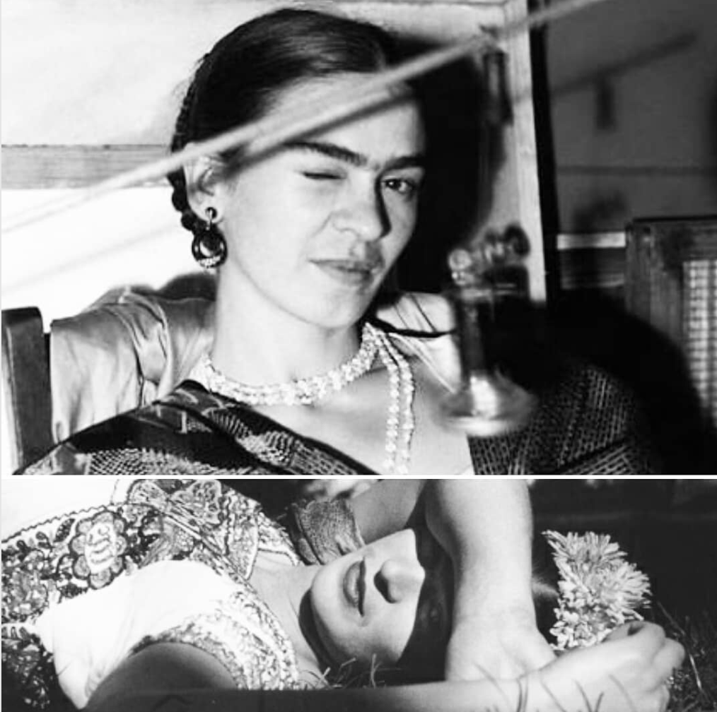 Frida Kahlo Used To Fill In Her Eyebrows With A Drugstore