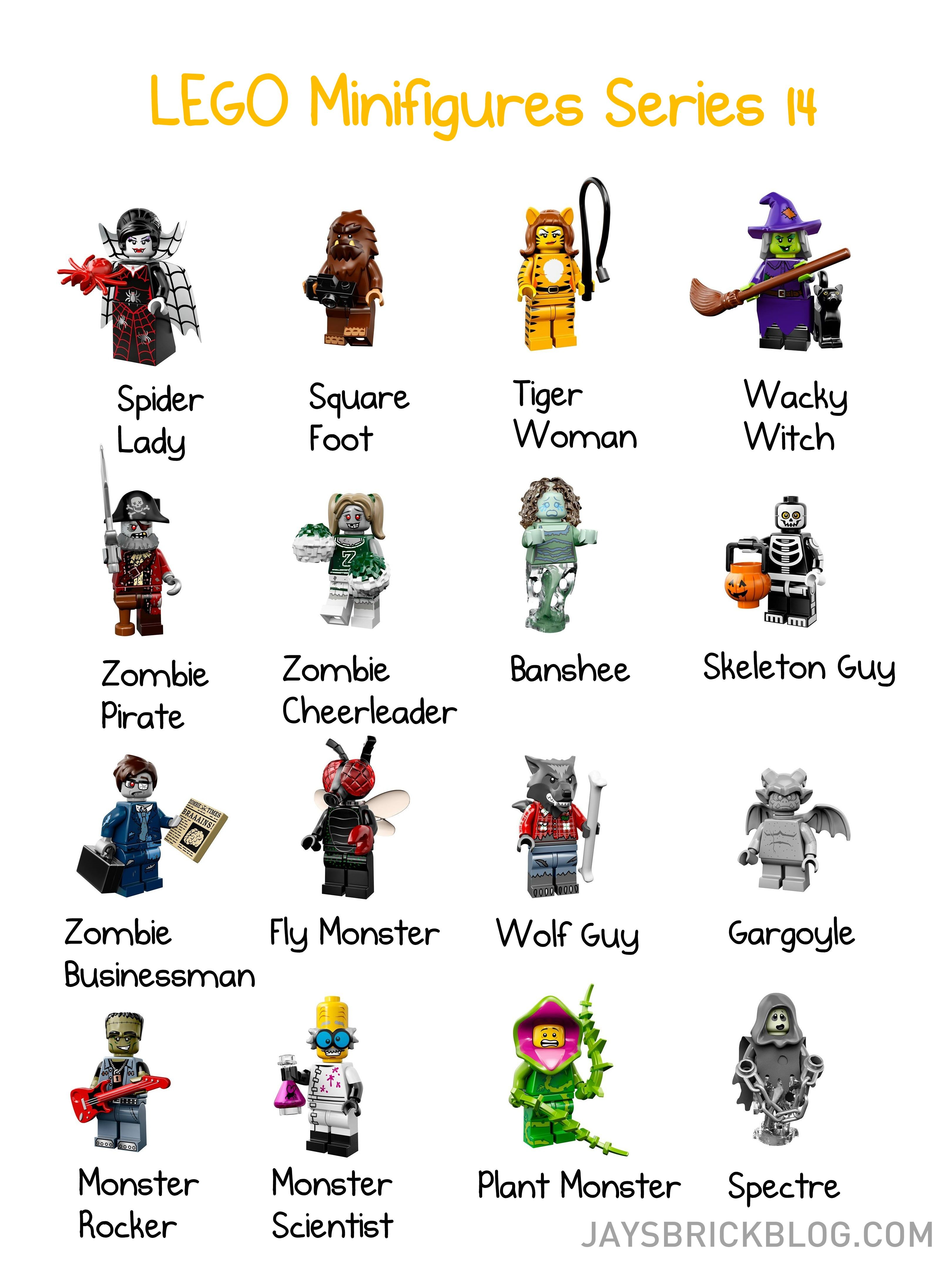 Lego Minifigures Series 14 Includes Some Surprising