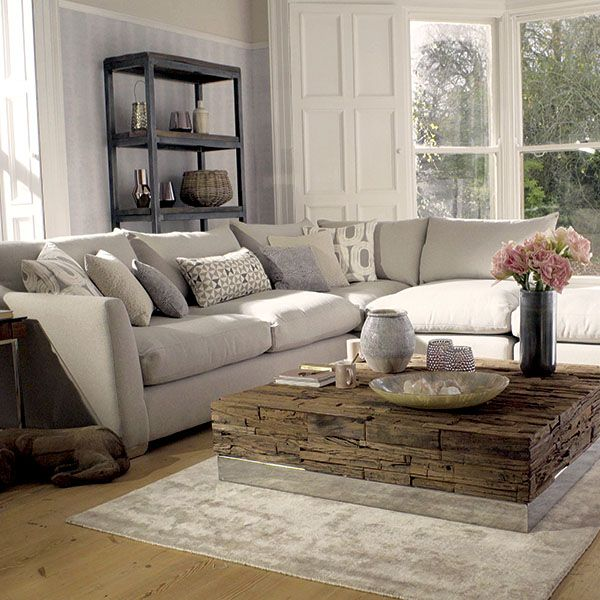 living room ideas with corner sofa the floyd corner sofa and footstools livingroom 26382