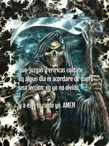 Imagenes De La Santa Muerte Con Frases Chidas 9 Flaquita En 2018