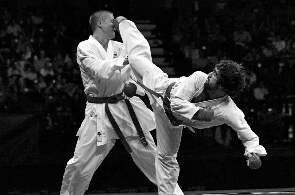 WKF Kumite Champion Rafael Aghayev