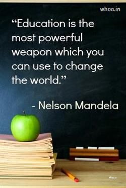 Image Of The Education Thought By Nelson Mandela Mandela Quotes Nelson Mandela Quotes School Quotes