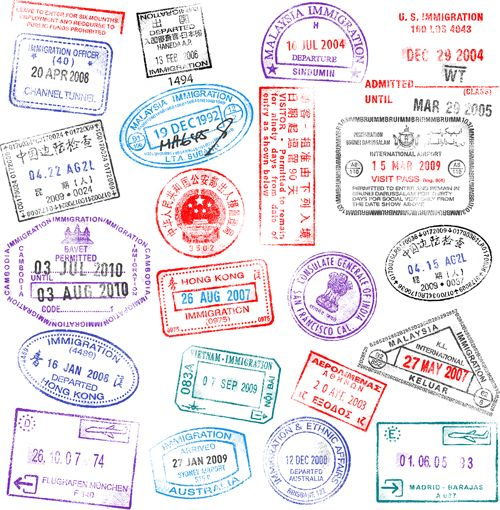 Different passports template vector 04 girl scout ideas buy high detail vector passport stamps set by fourleaflover on graphicriver a collection of 21 vector passport stamps from countries all over the world stopboris Image collections