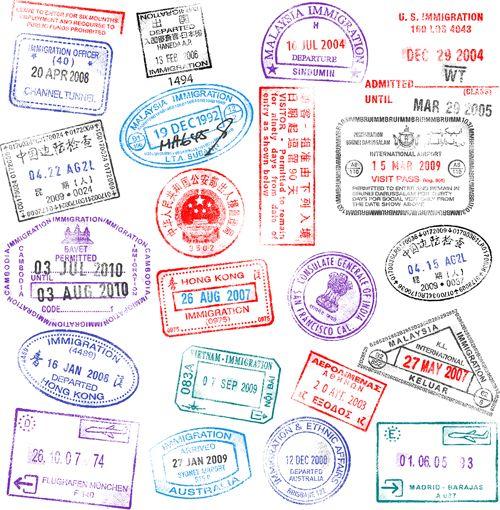 Different passports template vector 04 | free vector | Pinterest ...