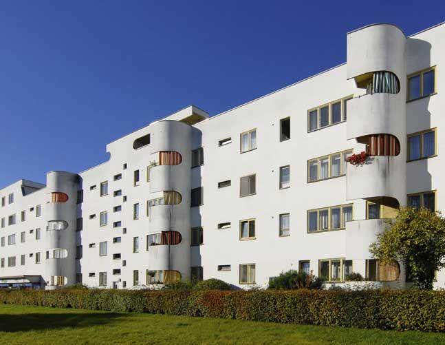 by hans scharoun siemens city berlin architecture hans scharoun pinterest bauhaus. Black Bedroom Furniture Sets. Home Design Ideas