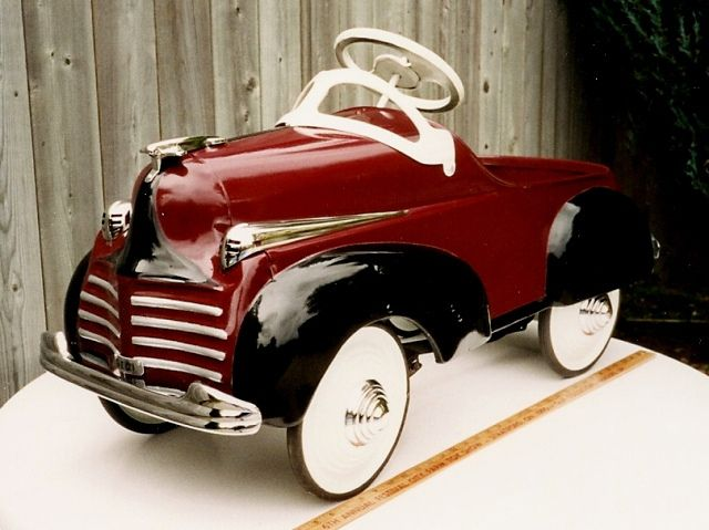 1941 Chrysler Pedal Car By Steelcraft Model C535 1947 1948 With