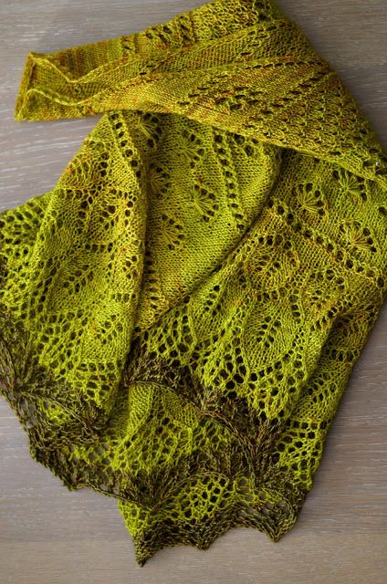 Dreieckstuch Herbstblüte Mein Blog Stricken Häkeln Nähen