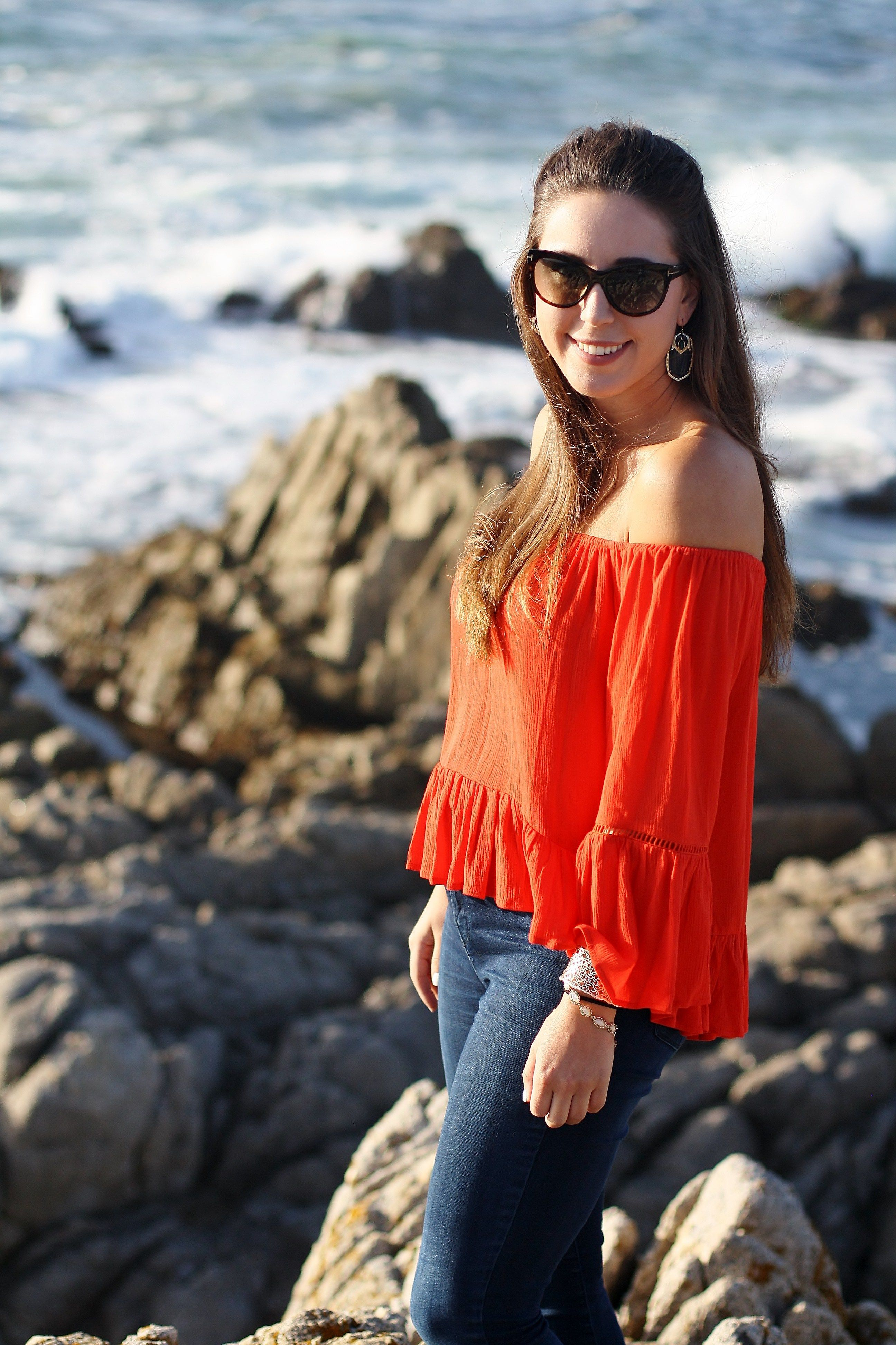 Pebble Beach The 17 Mile Drive Review Travel Blogger Fashion Style Wander Off Shoulder Summer