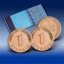 Komplett Set 1 Pfennig 1948 1994 Deutsche Mark D Mark