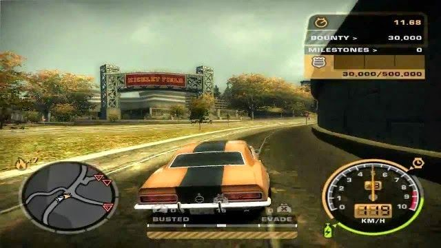 Nfs Most Wanted Black Edition Gameplay