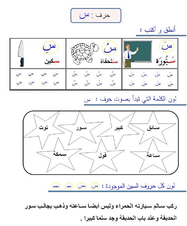 3 me fiche d exercice lettres blog de osratouna arabic learning arabic. Black Bedroom Furniture Sets. Home Design Ideas
