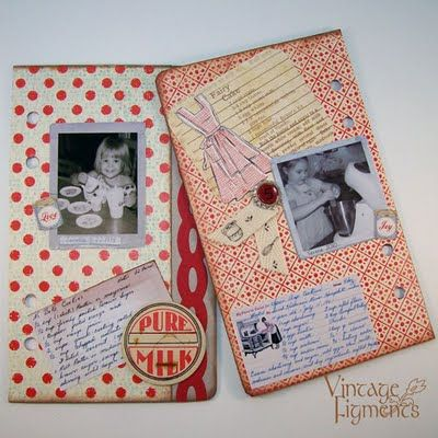 Recipe Scrap pages