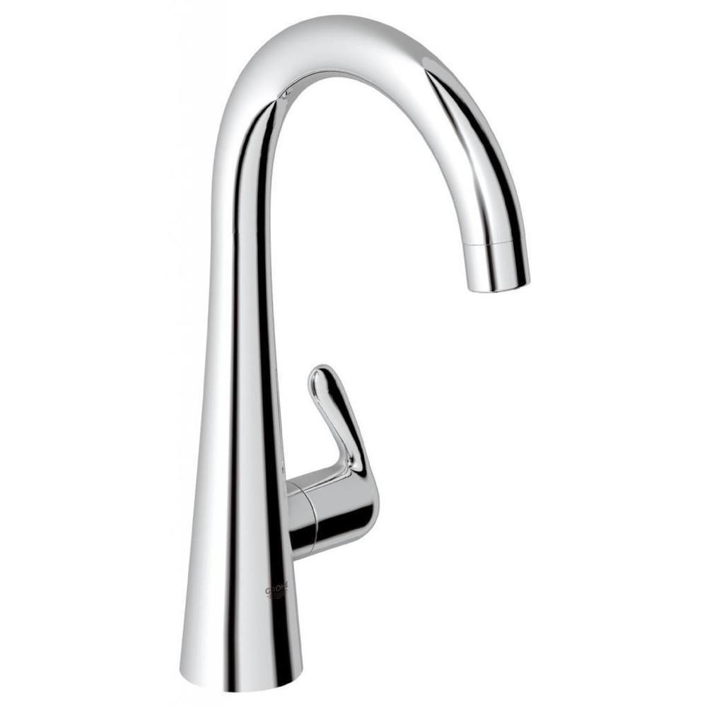 Grohe Starlight Chrome Zedra/Ladylux Pillar Tap Bathroom Faucet ...