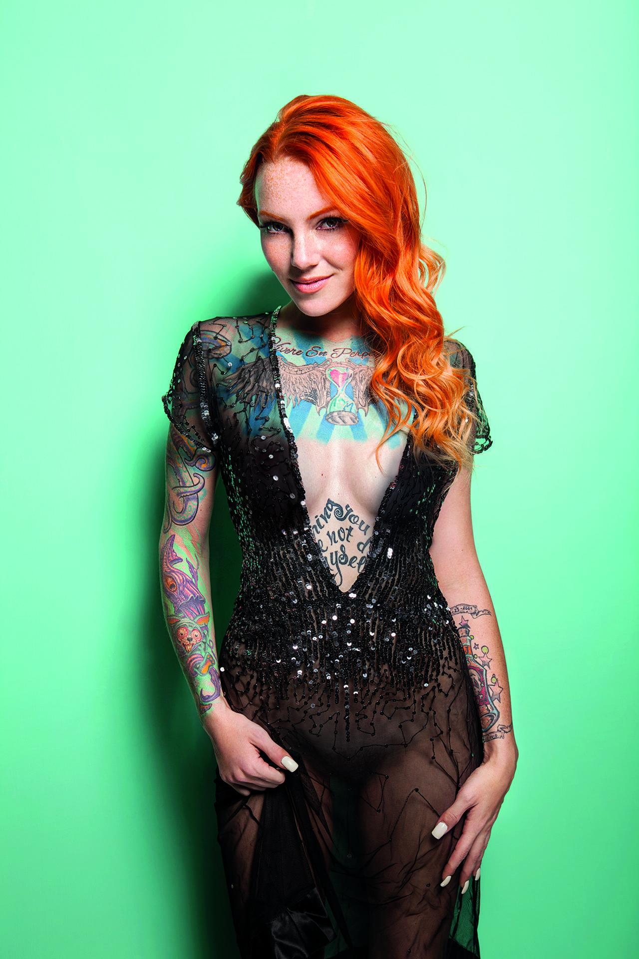 Sexy sorceress tattoo designs