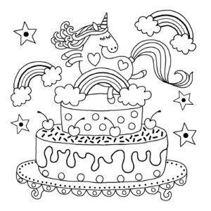 Free Downloads Flying Kawaii Unicorn Coloring Pages Coloring Coloringbook Coloringpages Unicornparty Unicorn Coloring Pages Coloring Pages Coloring Books