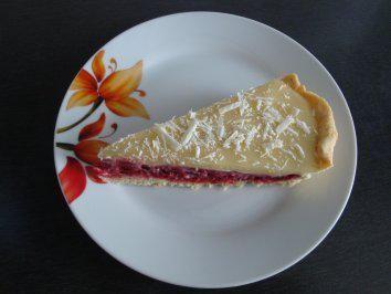 Tarte Mit Himbeeren Und Weisser Schokolade Rezept Rezept Rezepte Weisse Schokolade Kuchen Weisse Schokolade
