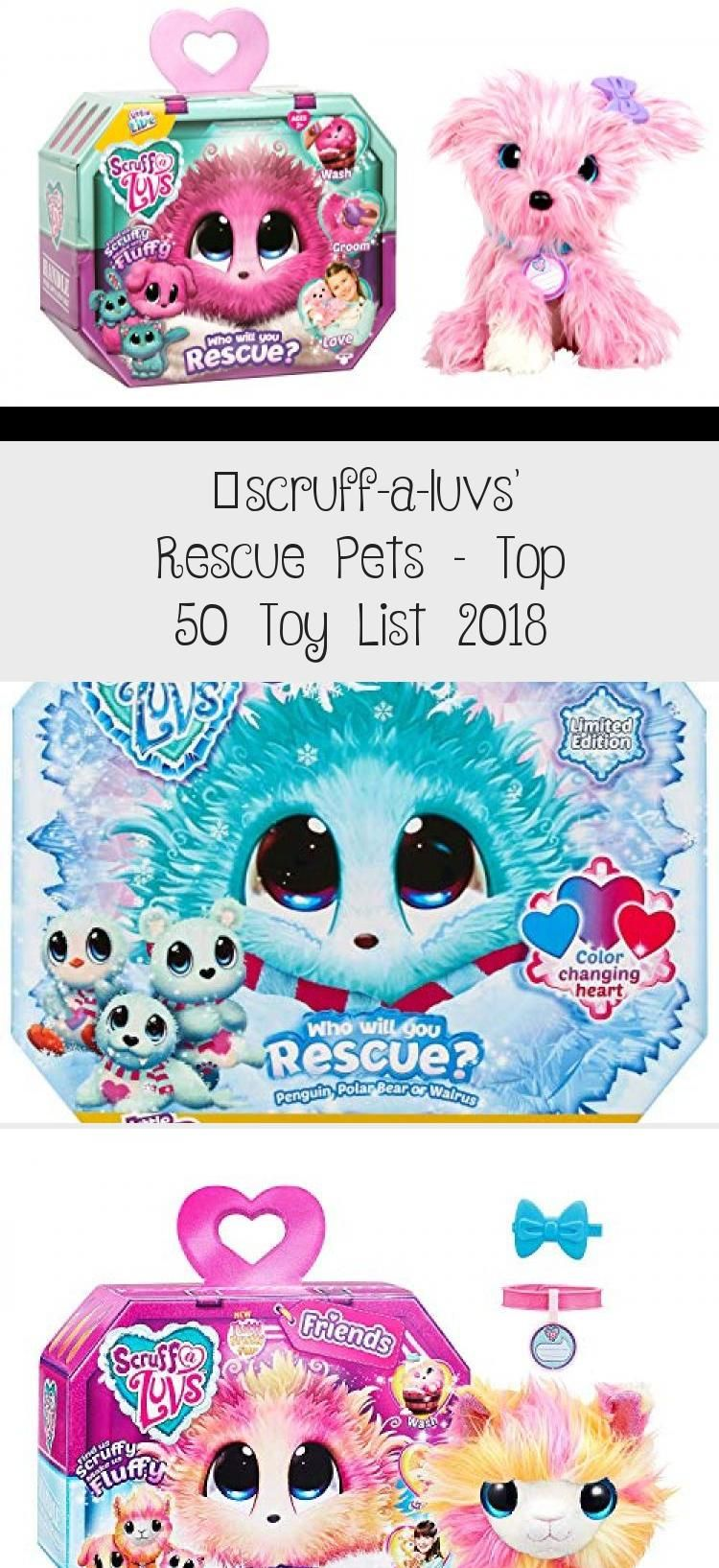 Scruff A Luvs Rescue Pets Top 50 Toy List 2018 Yeswecoupon Com 90stoys Outdoortoys Crochettoys Toysjuguetes Homemadetoys In 2020 Animal Rescue Toys Luvs